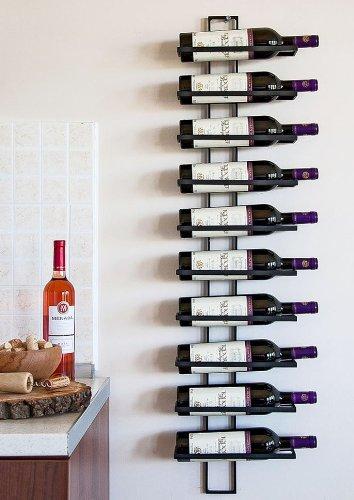 """Weinregal """"Dies"""" aus Metall für 10 Flaschen"""