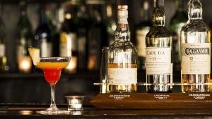 Hausbar - mit Cocktail