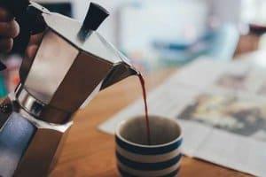 Der elektrische Espressokocher