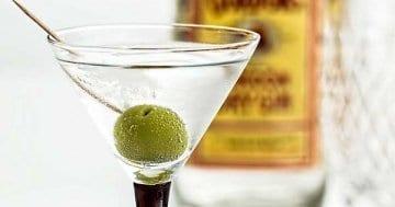 Ein Cocktail mit Gin